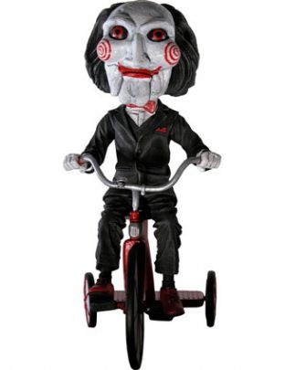 Saw Puppet (Billy/Jigsaw) Head Knocker